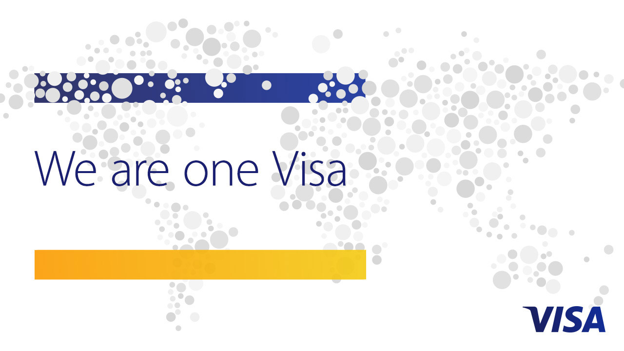 We are one Visa