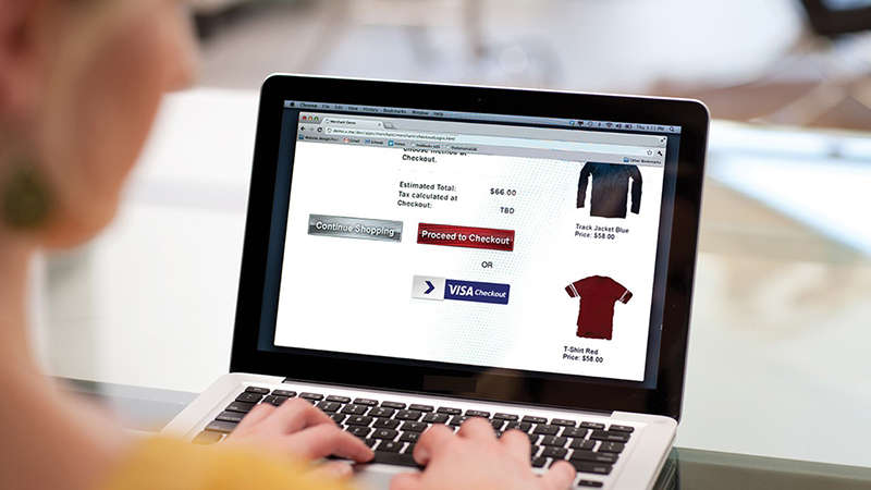 online shopping with Visa Checkout