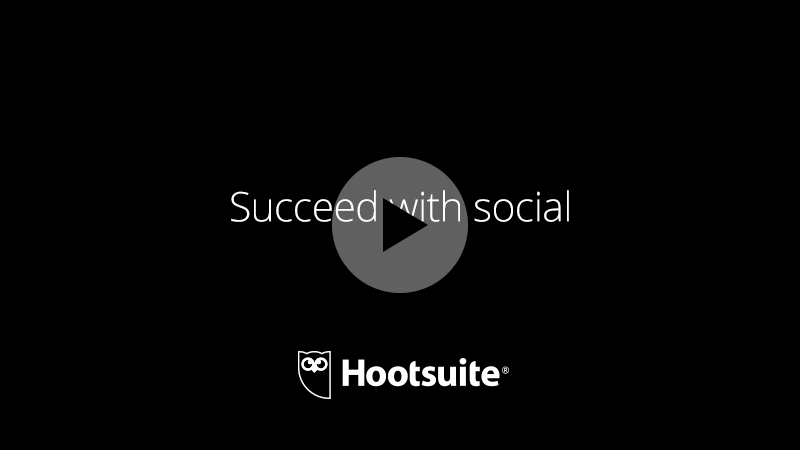Hootsuite succeed with Social